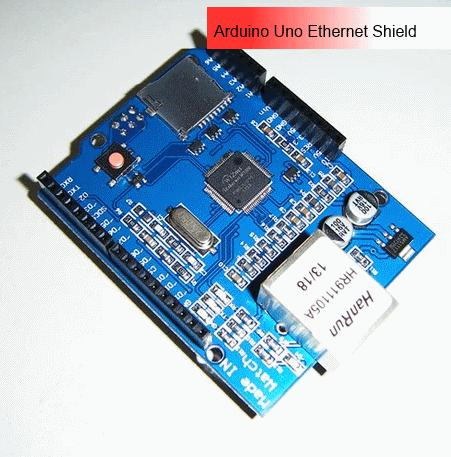 Ethernet W5100 Shield with SD Card Holder for Arduino Mega