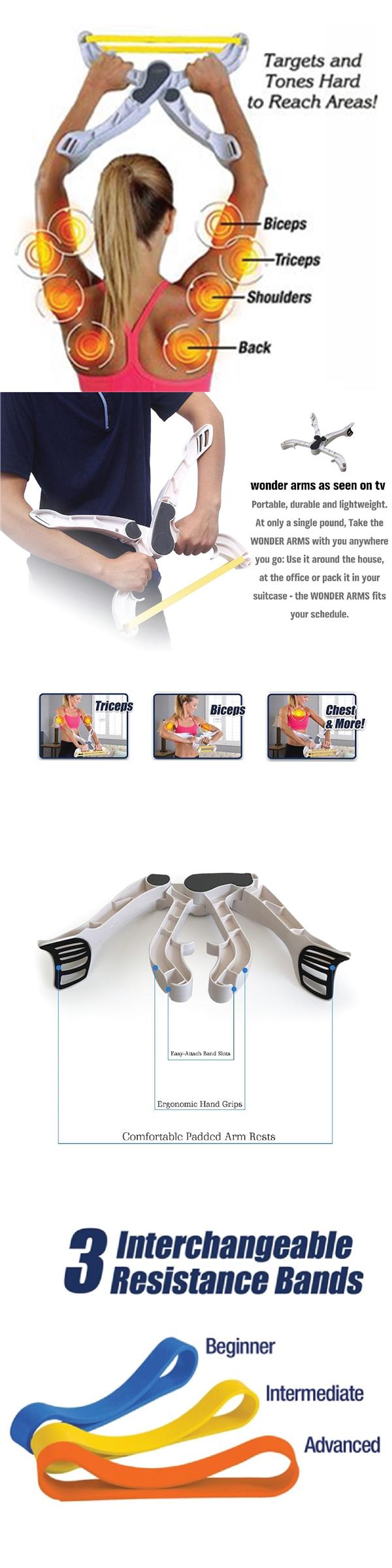 Wonder Arm Total Arm Workout System Good Figure Fitness Exercise Train