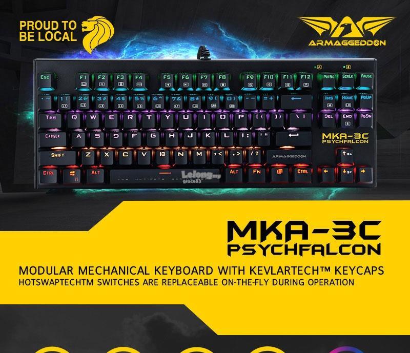 d41b4b20e4a Armageddon MKA-3C Gaming Keyboard Bl (end 4/8/2019 10:47 PM)