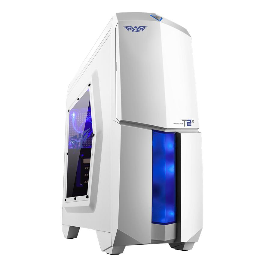 ARMAGGEDDON MICROTRON T2X GAMING MATX CHASSIS(WHITE)