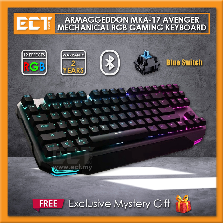 Armaggeddon MKA-17 Avenger Mechanical RGB Gaming Keyboard