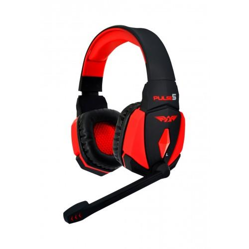 Armaggeddon Pulse 5 Scarlet Soviets Gaming Headset