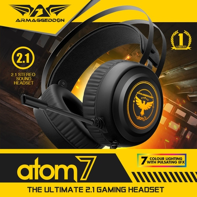 ARMAGGEDDON WIRED ANALOG 3.5MM GAMING 2.1 ATOM 7 HEADSET