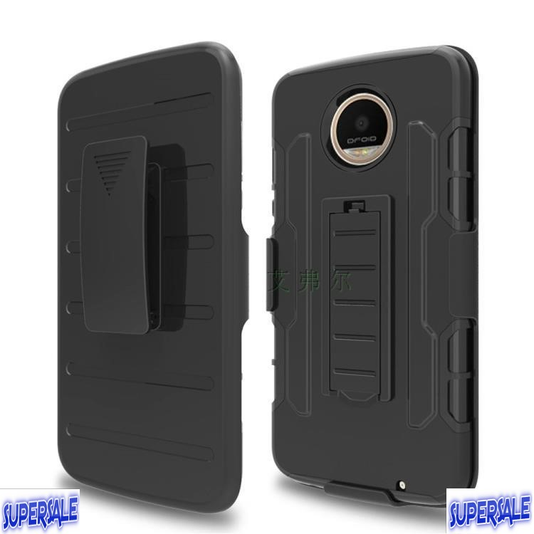 Armor Bracket Protective Casing Case For Moto Z2 Play