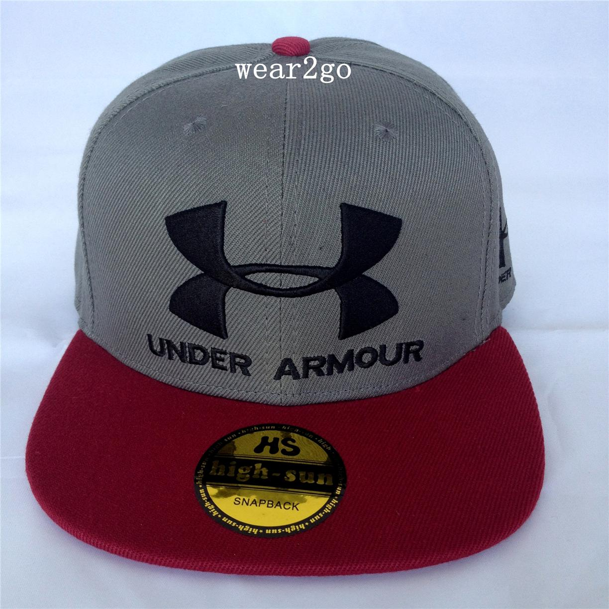 UNDER ARMOUR (2) Snapback Cap in Gre (end 2 14 2017 6 15 PM) cd3582dc3b9