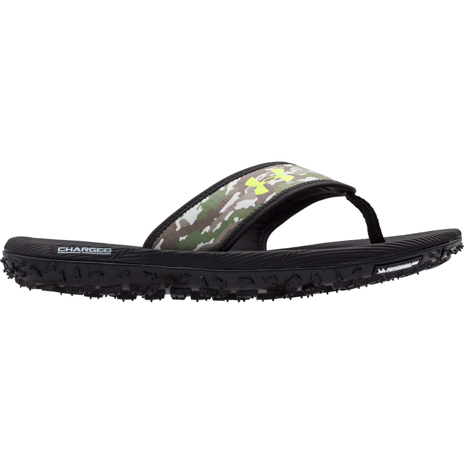 89f798811134 Under Armour Fat Tire Flip Flops- Bl (end 6 5 2021 12 00 AM)