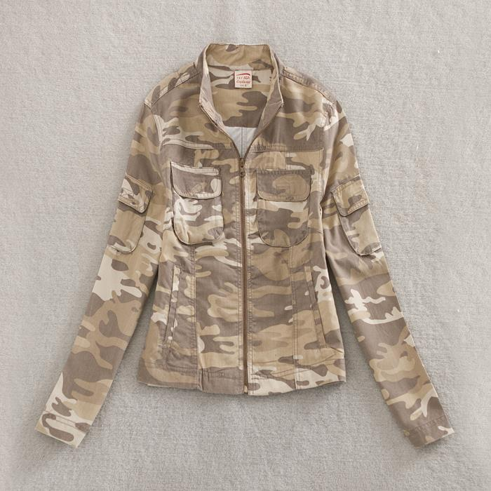 Army Camouflage Military Soldier Jacket - B1638A/B1658A