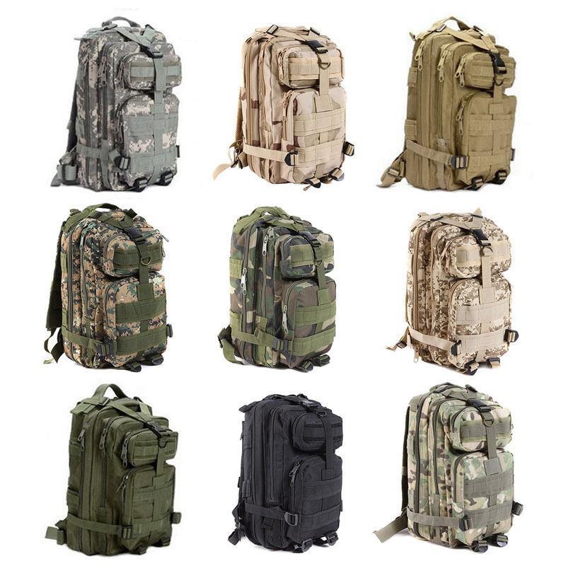 cf75dad16295 Army Military 3P Attack Tactical Backpack Bag Hiking Bag 25L