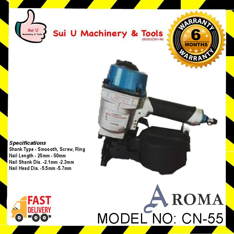 Aroma JEC CN-55 Coil Nailer 25mm,50mm