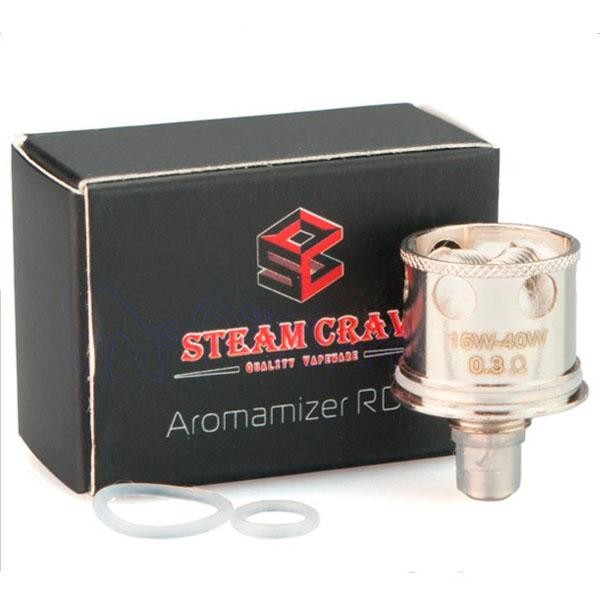Aromamizer OCC Dual Kanthal Coil Head 0.3ohm by Steam Crave (5pcs)