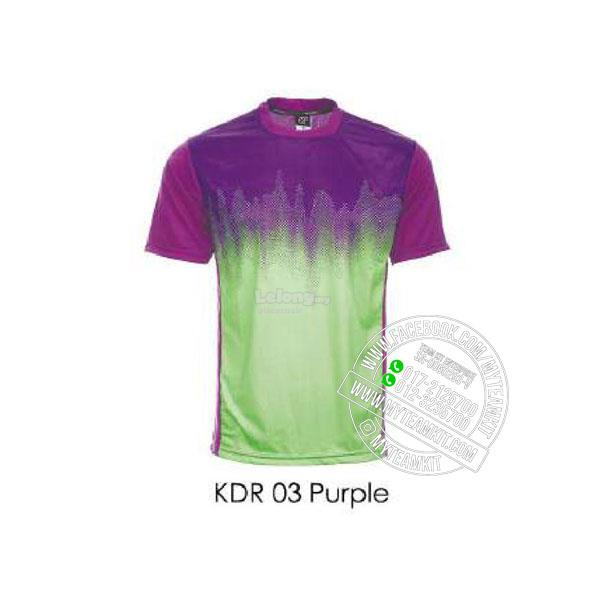 Arora Dry Fit Sublimation Jersey (KDR03 Purple)