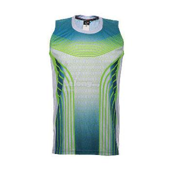 Arora Dry Fit Sublimation Sleeveless Jersey (FS05 Grey/Navy)