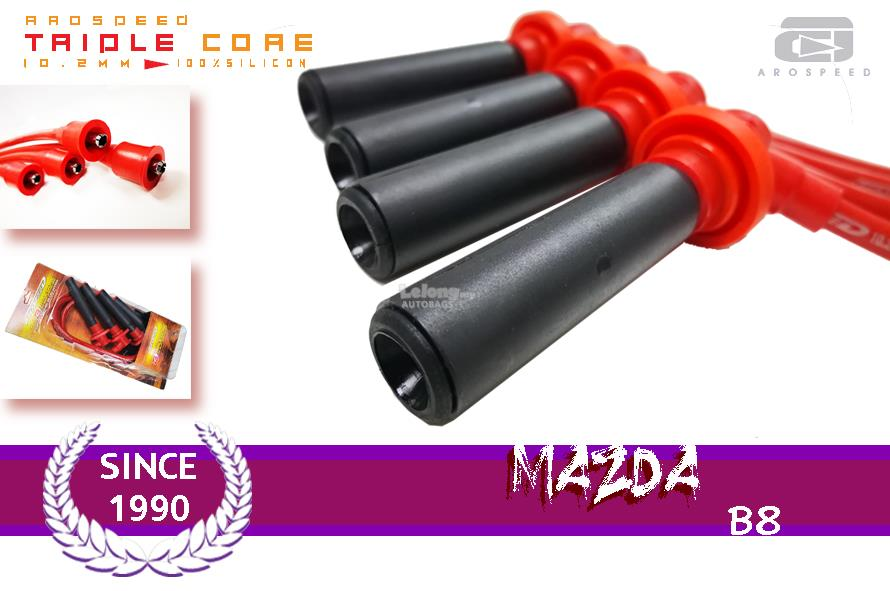 AROSPEED 10.2mm Triple Core Ignition cable MAZDA B8