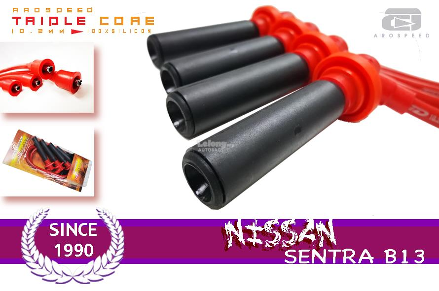AROSPEED 10.2mm Triple Core Ignition cable NISSAN SENTRA B13