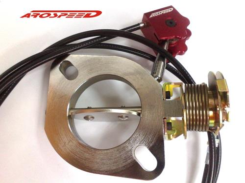 Exhaust Butterfly Valve ~ Arospeed inches exhaust control va end pm