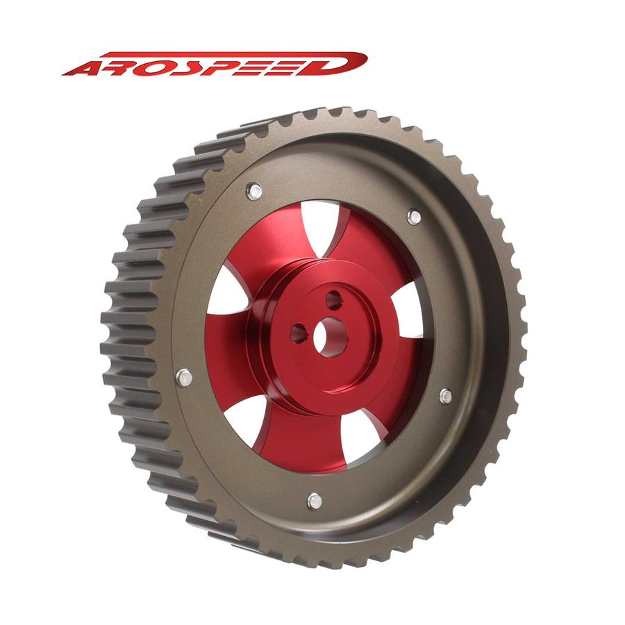 AROSPEED Adjustable Cam Pulley EVO 1-9/VR4 (Red)