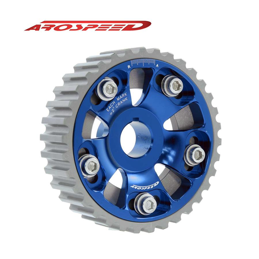 AROSPEED Adjustable Cam Pulley Honda (Blue)