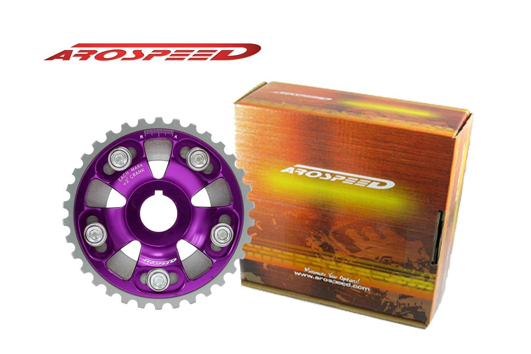 AROSPEED Adjustable Cam Pulley Honda (Purple)