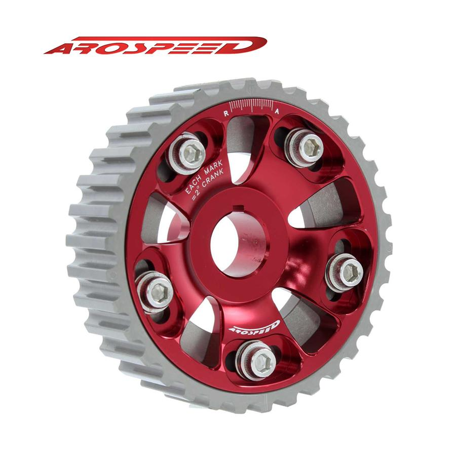 AROSPEED Adjustable Cam Pulley Honda (Red)