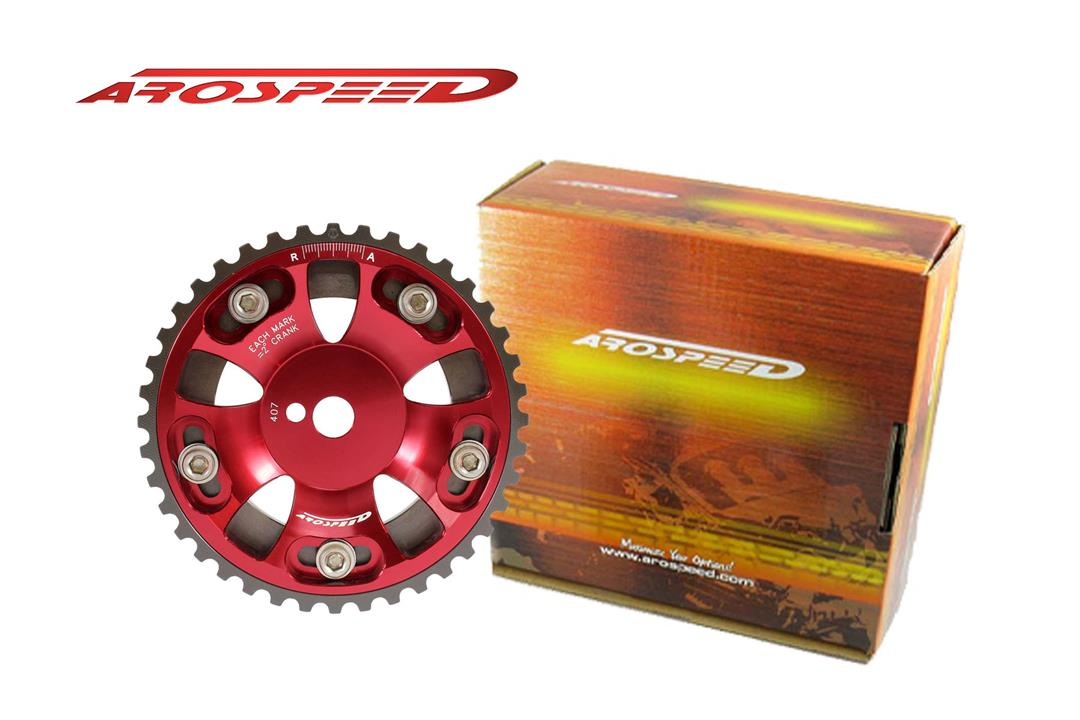 AROSPEED Adjustable Cam Pulley P12V (Red)