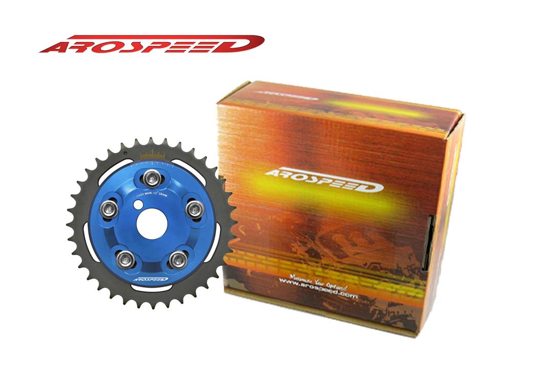 AROSPEED Adjustable Cam Pulley SR20 NISSAN SILVIA(Blue)