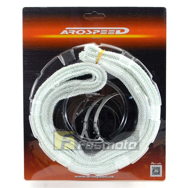 Arospeed Exhaust Manifold Piping Thermal Wrap 38mm x 7M (1.5' x 23')