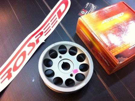 Arospeed Harden Lighten T6061 Aluminium Crank Pulley Perodua Myvi 1.5