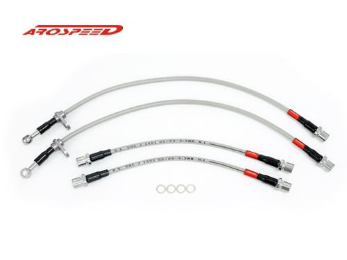 AROSPEED Steel Braided Brake Hose Toyota Vios 03-07 2 disc 2 Drum