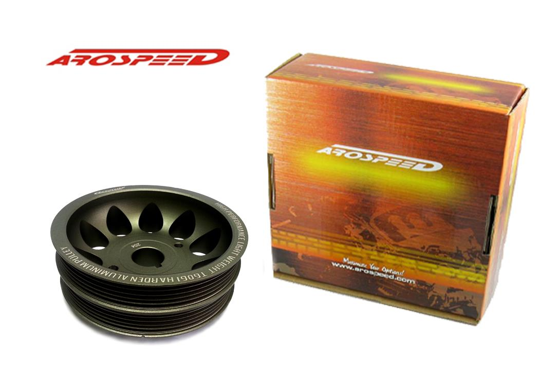 AROSPEED Toyota Levin 20V BK TOP Harden Lightening Crankshaft Pulley
