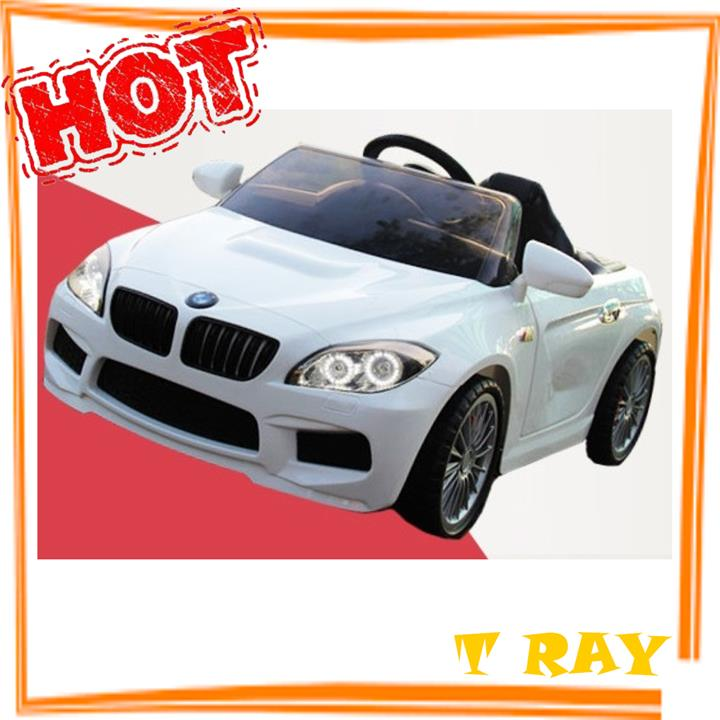 Lovely BMW M6   12v Electric Toy Car   White