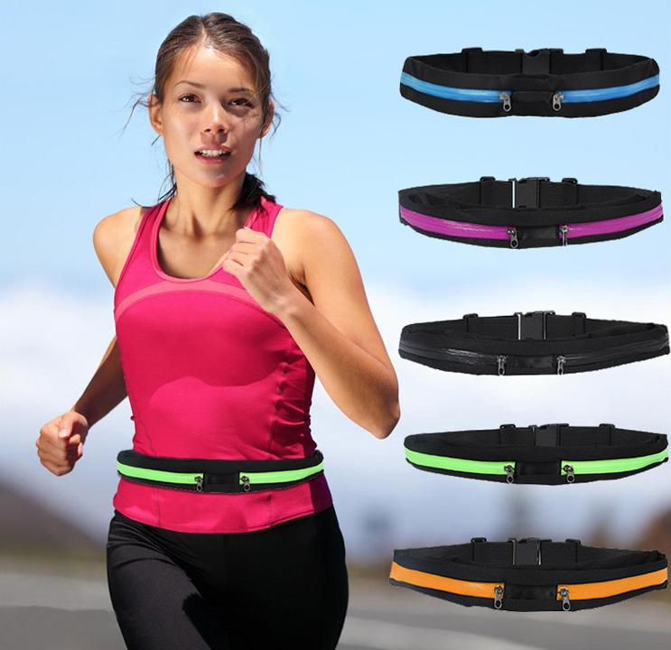 New Arrival Single Double Pocket Sport Pouch Bag Exercise