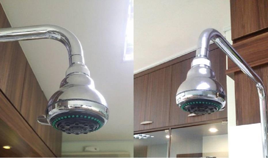 Arsh 3323 Vinco Rain Shower Head Bathroom Bath