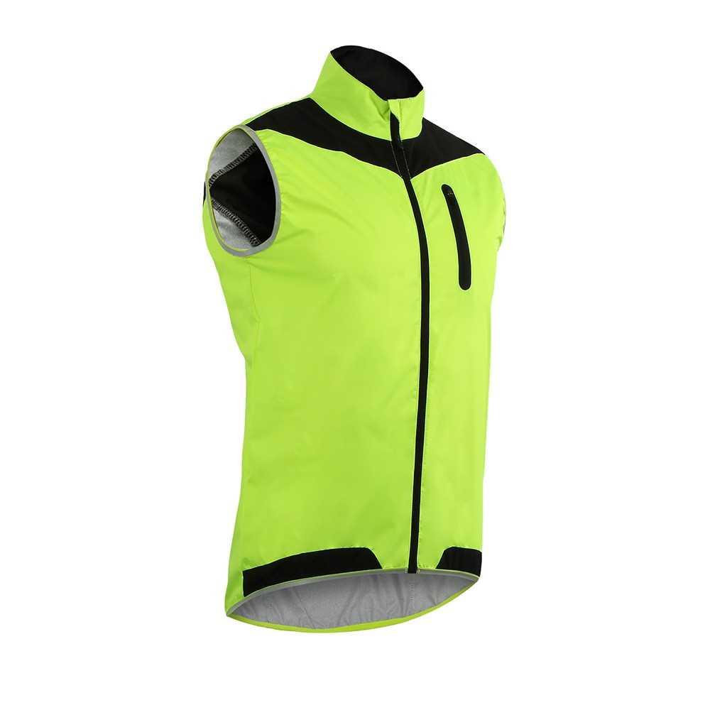 c219d07666cf8 ARSUXEO Men u2019s Sleeveless Cycling Jersey Full Zipper Breathable Ru