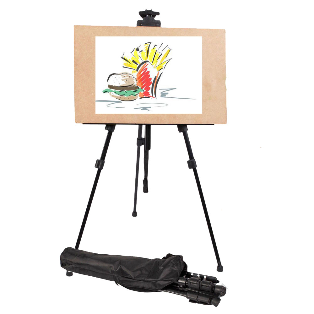 Art Sketch Paint Menu Easel Stand Display Tripod for Floor Countertop