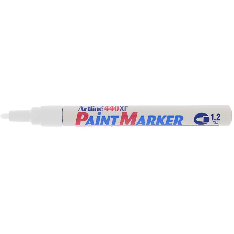 Artline 440XF Paint Marker - White