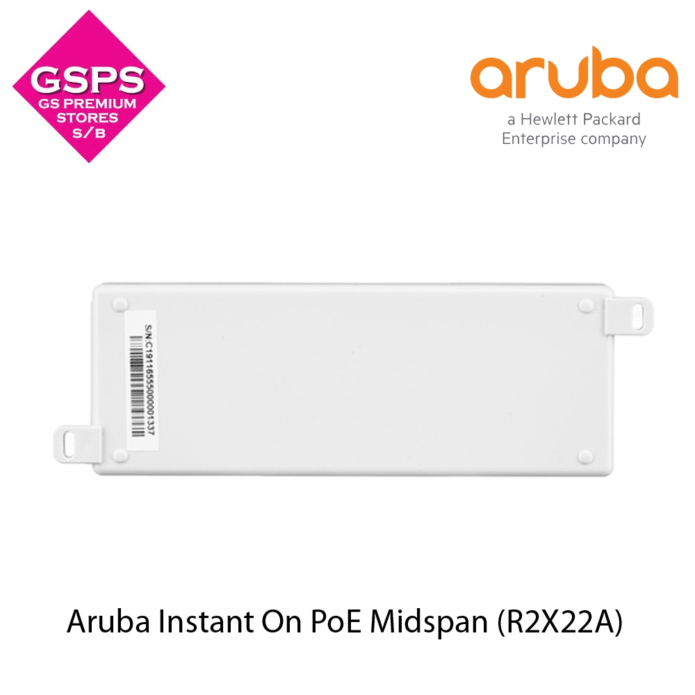 Aruba Instant On POE Midspan (R2X22A)