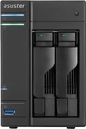 AS202T NAS SERVER (2 BAY, INTEL ATOM 1.2GHZ DUAL CORE)