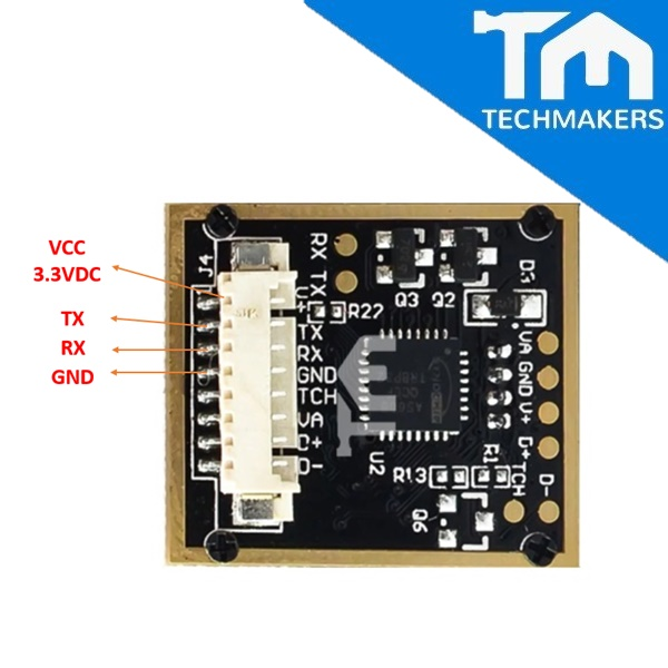AS608 Optical Fingerprint Reader Module