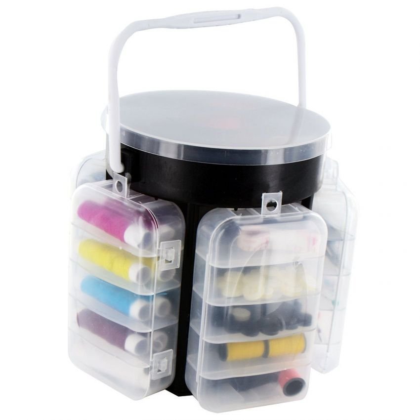 ASOTV 210 Pieces Sewing Kit Storage (end 11/20/2019 8:26 PM)