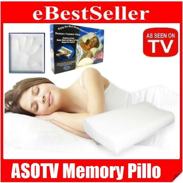 AsoTv !! Memory Pillo With Washable Zipped Soft Pillow Cover Soft