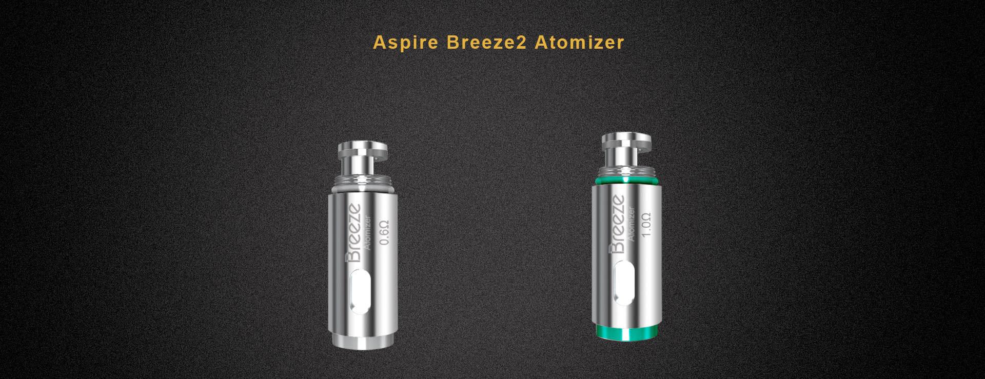 Aspire Breeze & Breeze 2 Replacement Coil OCC (5pc) Vape **ORIGINAL