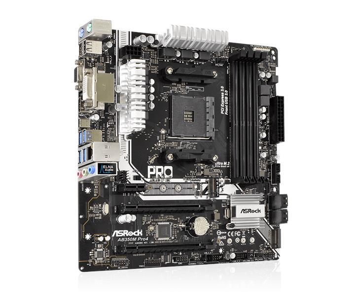 ASRock AB350M Pro4 AM4 MATX AMD AM4 (end 5/3/2020 12:15 AM