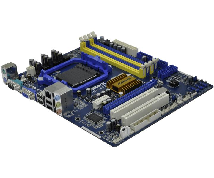 Asrock N68-GS AMD Motherboard AM3 AM2+ AM2 DDR2 GeForce 7025