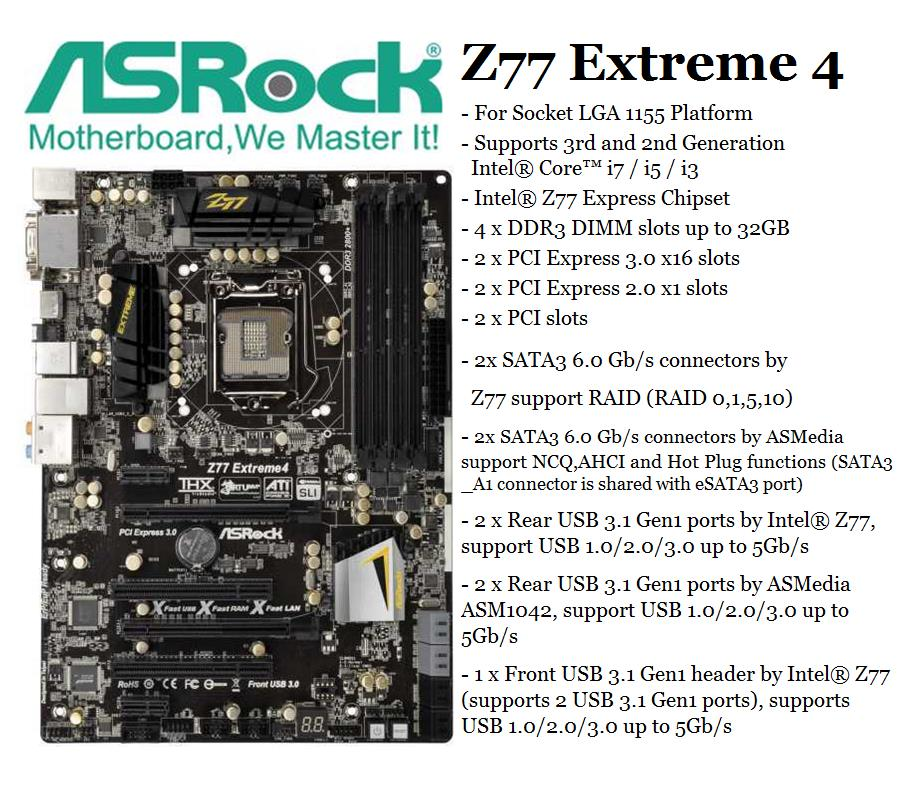 Intel Z77 Express Chipset