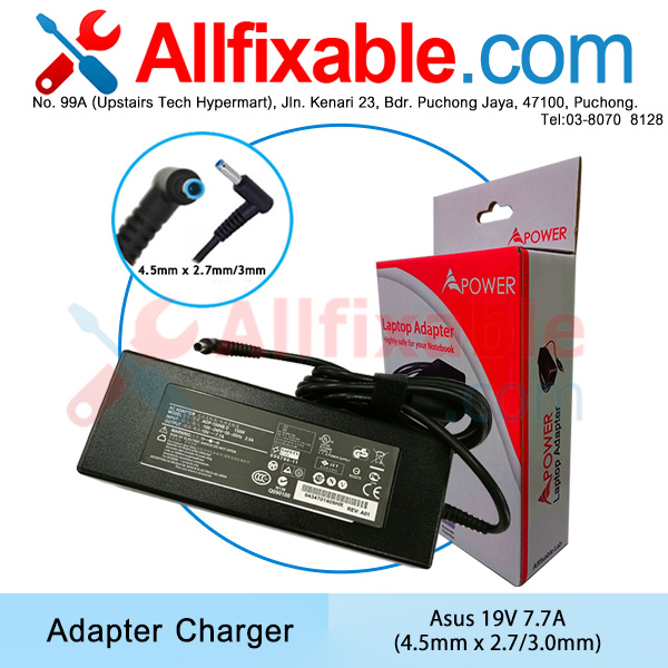 Asus 19.5V 7.7A Zenbook Pro UX580 UX580G UX580GD Adapter Charger