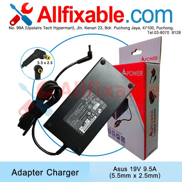 Asus 19V 9.5A ET2300 ET2300INTI ET2300IUTI G46 G46VR Adapter Charger