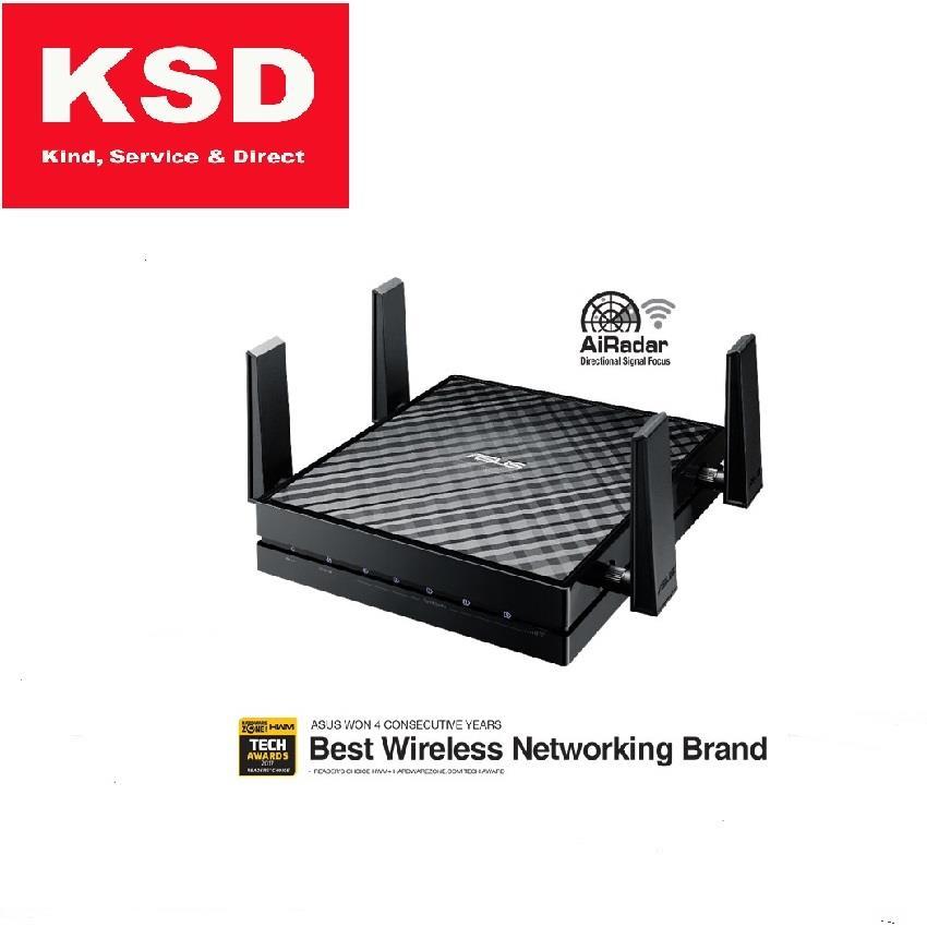 Asus 5GHz Wireless AC1800 Media Bridge/Access Point EA-AC87