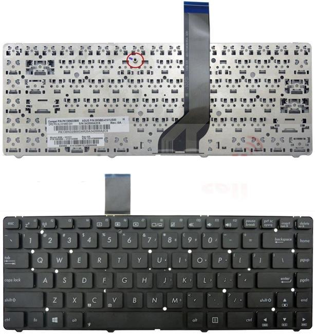 Asus A45A A45V A45VD A45VJ A45VM A45VS Laptop Keyboard