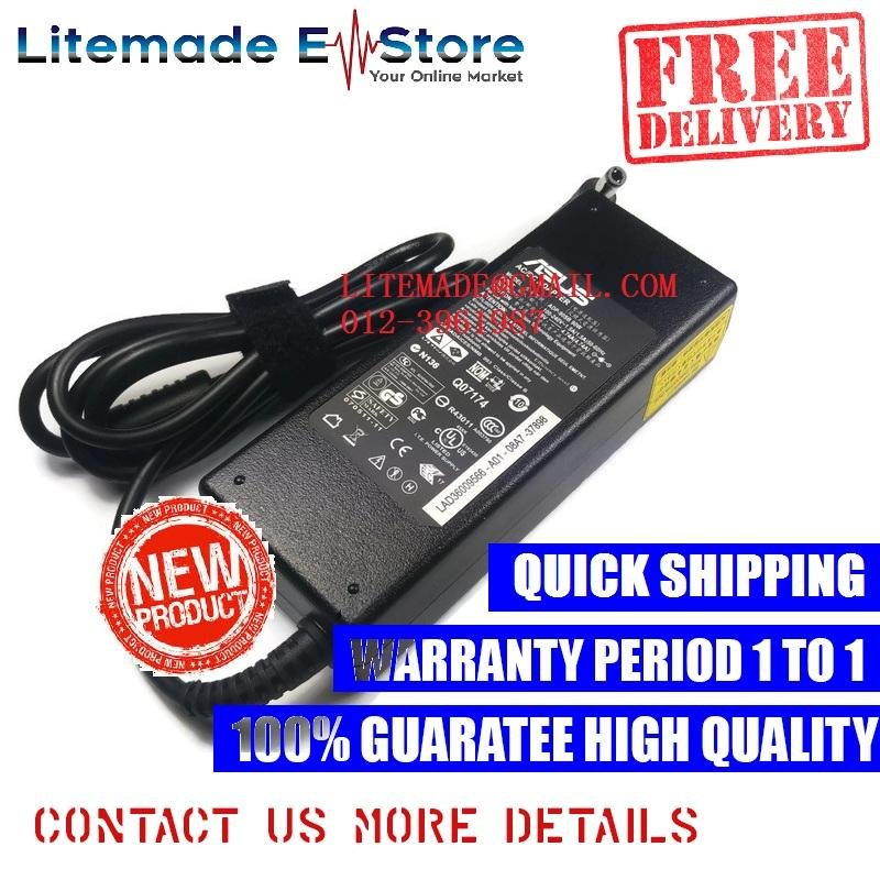 ASUS A4K PL80J K53SC G2SV X85SE A7J VX3 L4 F3Sc Adapter Charger