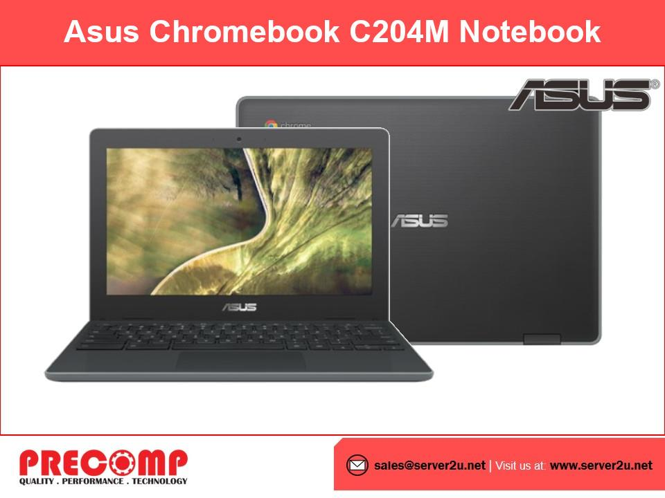 Asus Chromebook C204M Notebook (N4000.4GB.32G) (AGJ0077))